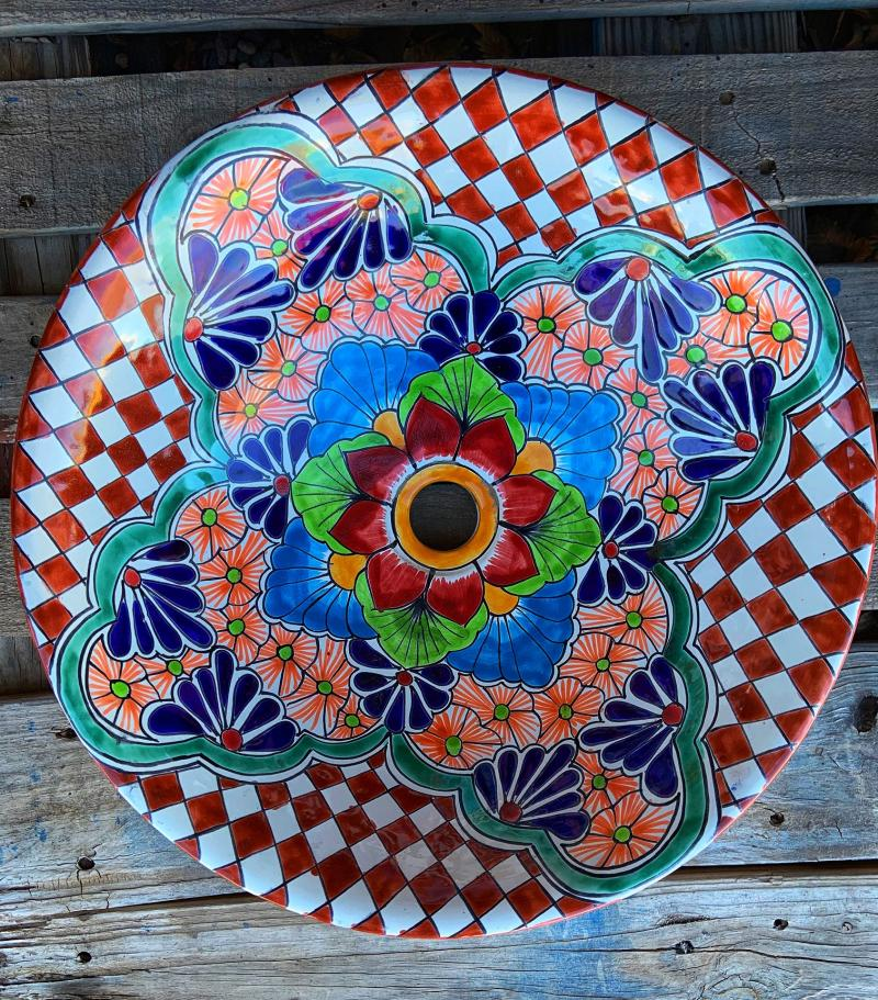 talavera sink-counter top sink-2