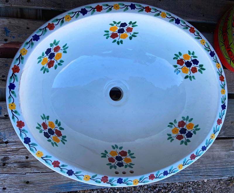 talavera sink-white